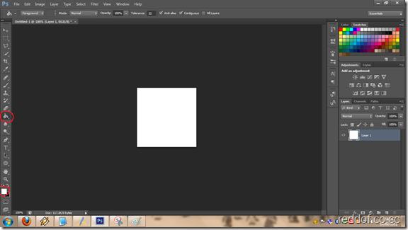 layer 1 putih