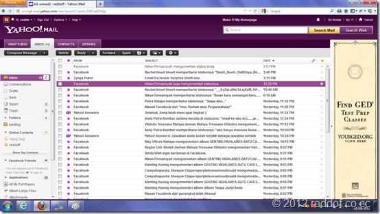 inbox tampil semua